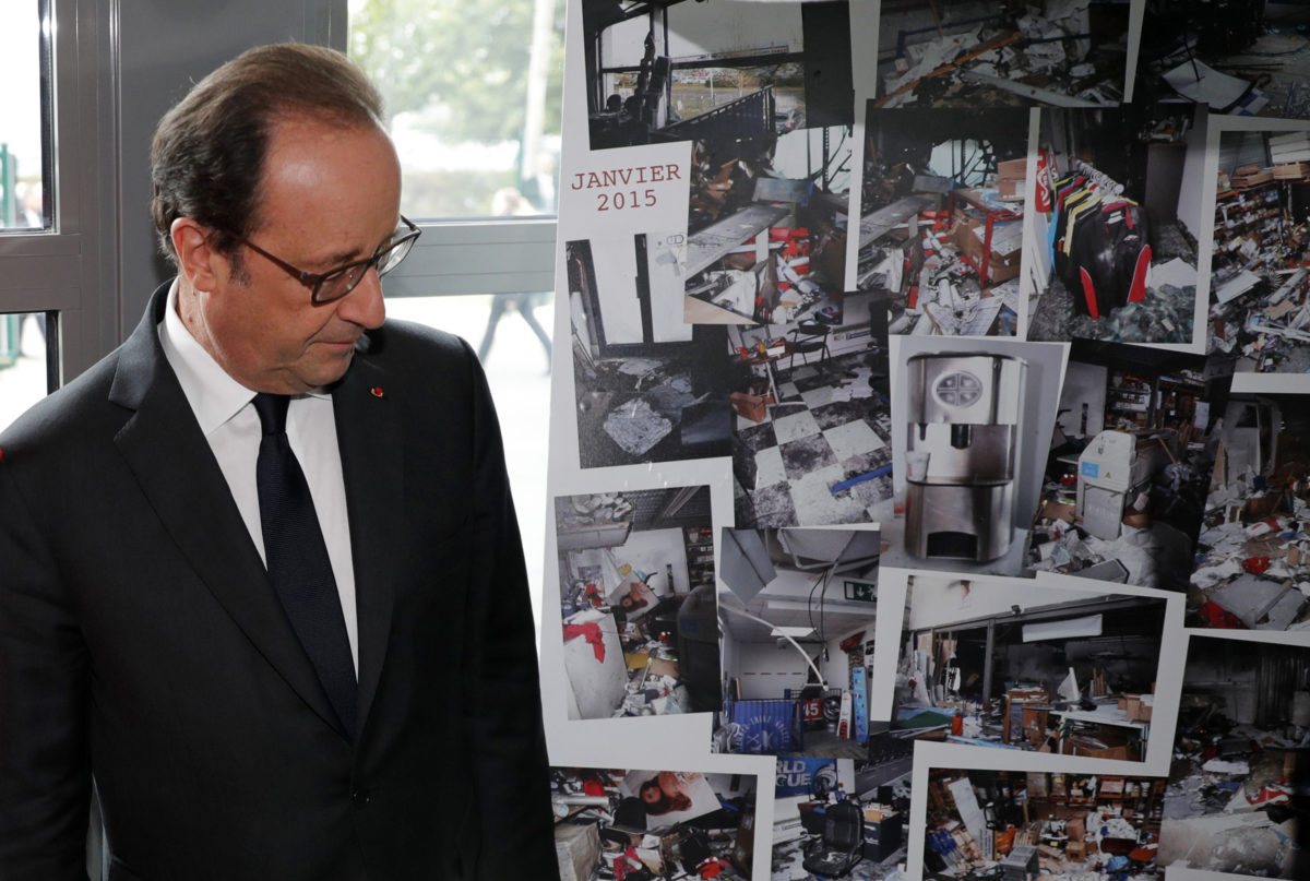 Printing plant where Charlie Hebdo killers died reopens