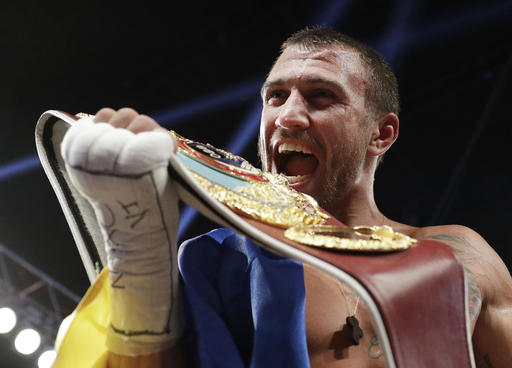 Lomachenko successfully defends WBO junior lightweight title