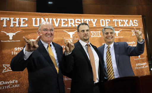 Hook'em Horns: Herman says he's ready for pressure of Texas
