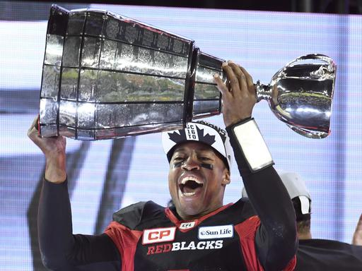 Ottawa wins Grey Cup, beating Calgary 39-33 in OT