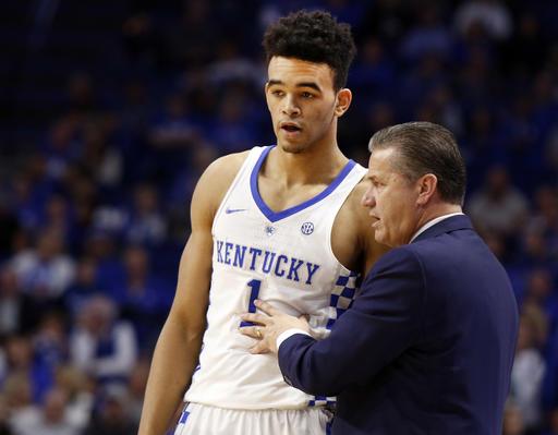 No. 1 Kentucky enters December still awaiting a close game