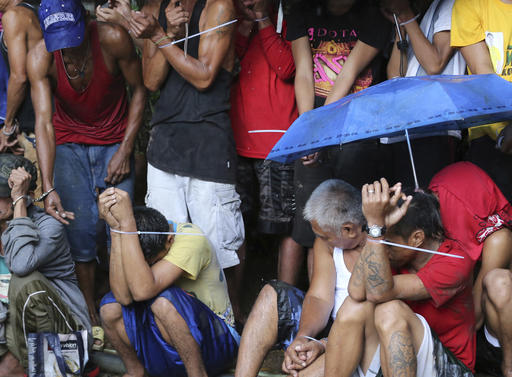 Philippine anti-drug crackdown suffers legal setback