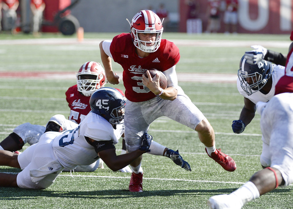 Indiana turns to new QB chance against Charleston Southern