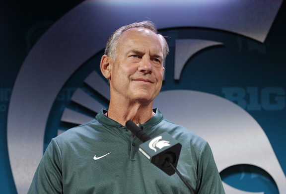 Michigan State Spartans football players try to learn from scandals at their university