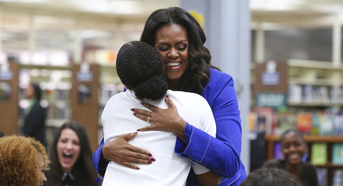 Michelle Obama's book tour includes Detroit stop