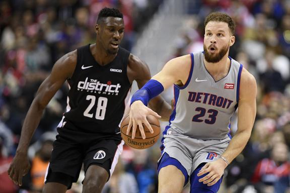 Detroit Pistons spanked in Washington, 101-87