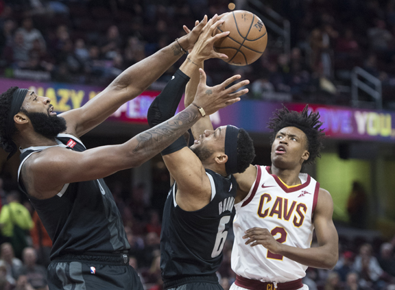 Cleveland Cavaliers dump Detorit Pistons 126-119 with Pistons' Blake Griffin taking break