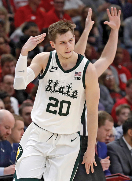 Pair of Michigan State Spartans men's basketball seniors developed well