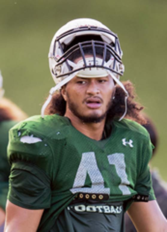 UH says  21-year-old linebacker has died