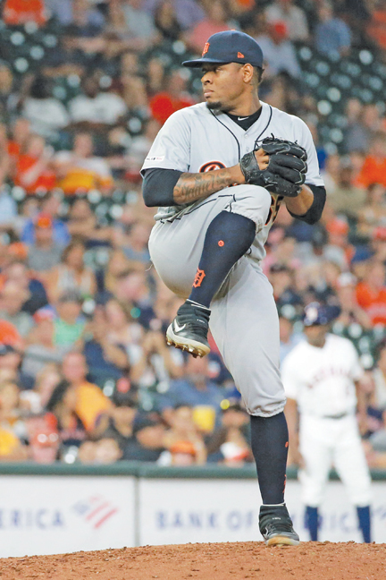 Astros' Gerrit Cole mows down Tigers with 12 strikeouts in seven innings in Houston's 6-3 win