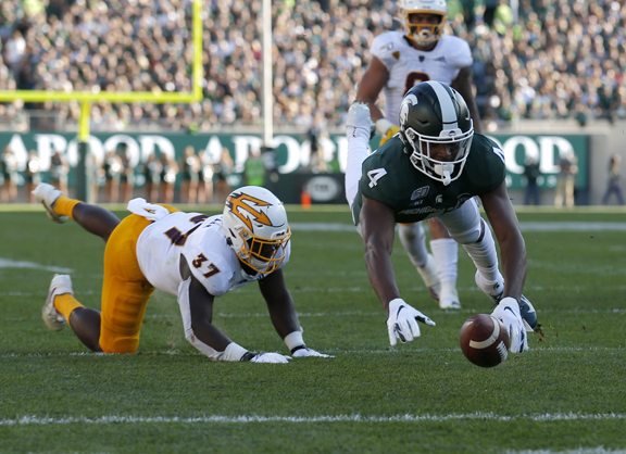 Michigan State Spartans biggest example of Big 10 close football finishes on Saturday