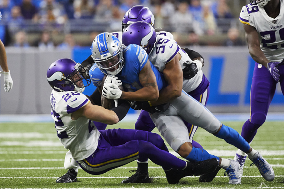Detroit Lions' defense smashed up in 42-30 loss to Minnesota