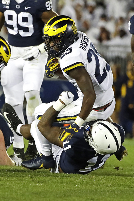 Penn State gets past Michigan Wolverines, 28-21