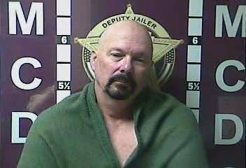 Ken Anderson, following his arrest in Kentucky, Tuesday.