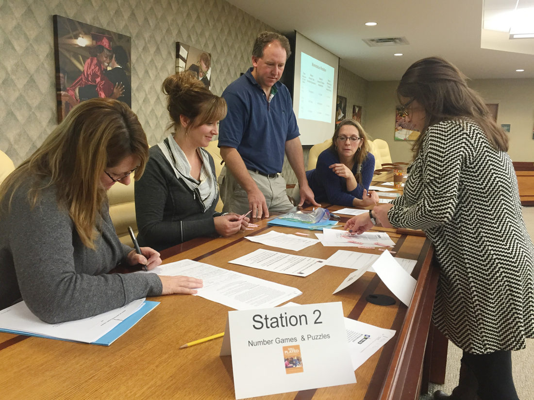 District Instructional Coaches Focus On Providing Professional