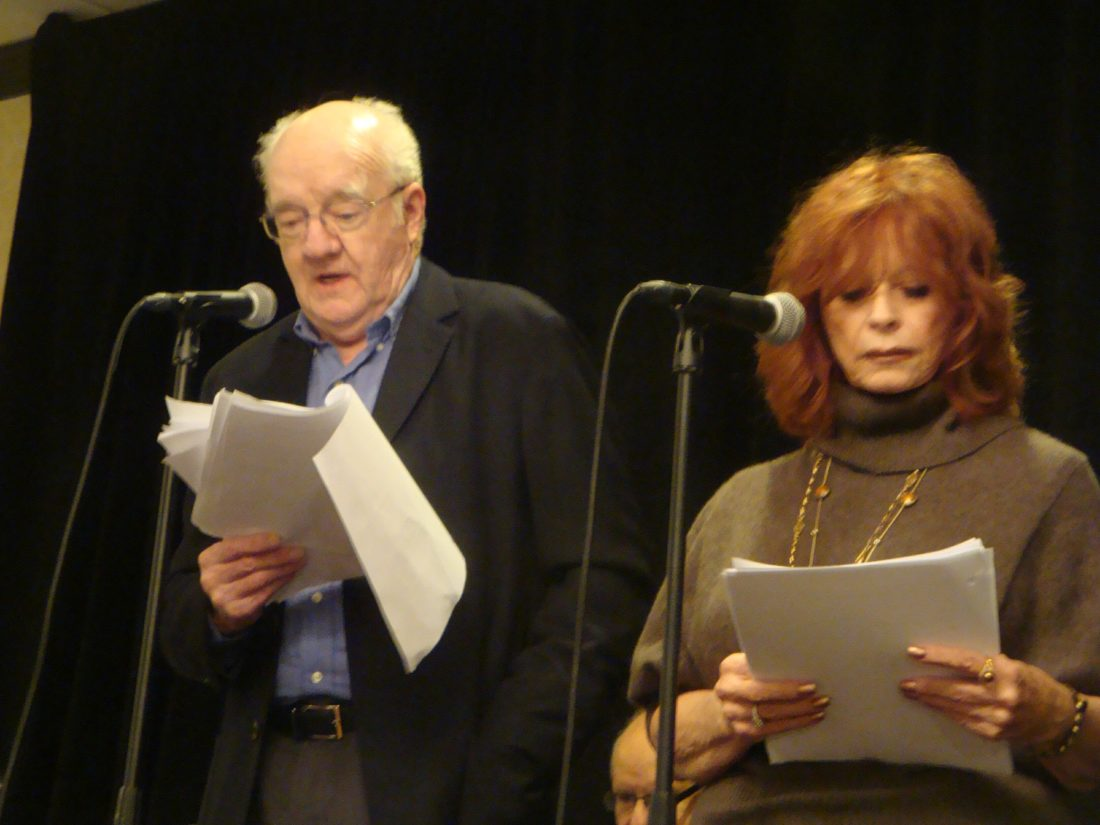 Richard Herd and Beverly Washburn at a previous SPERDVAC convention. Photos provided by Jerry Williams of SPERDVAC