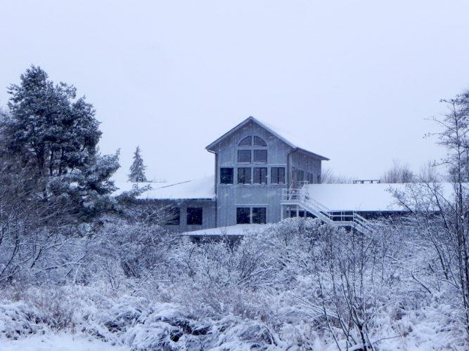 Audubon in winter.