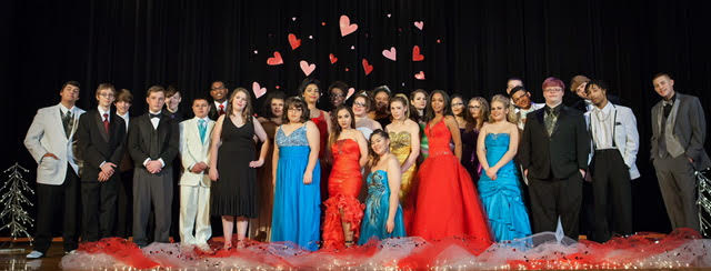 More than 200 gowns and tuxedos were donated by area merchants for the 11th annual Randolph Academy Fashion Show.