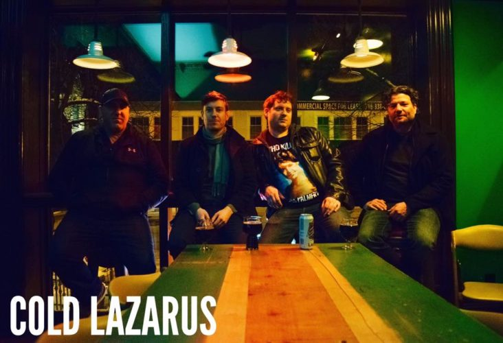 "The newly-formed, Jamestown-based band, Cold Lazarus, released the ""All Alone"" four-track EP. The band consists of favorite local musicians Adam Gould, Marc Scapelitte, Gavin Paterniti and Drew Minton."