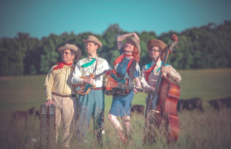 """The 62nd episode of WRFA-LP 107.9 FM's """"Rolling Hills Radio"""" will feature the duo known as The Farmer and Adele, pictured at center, along with Buffalo singer-songwriter Dee Adams in a 6:30 p.m. taping at the Robert H. Jackson Center's Carl Kappa Theater on Thursday, March 30. Submitted photo"""