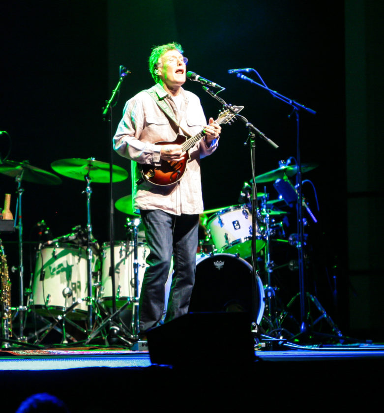 Steve Winwood performed April 29 at the Seneca Allegany Casino. At 68, Winwood seemed as though he was right at home on stage.  P-J photo by Chris Chapman
