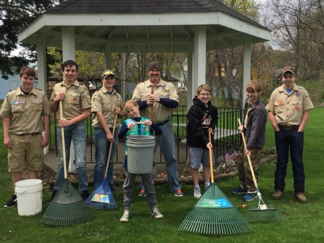The Boy Scouts will be one of several groups joining the Falconer community in the 22nd Annual Pride Day on Saturday.