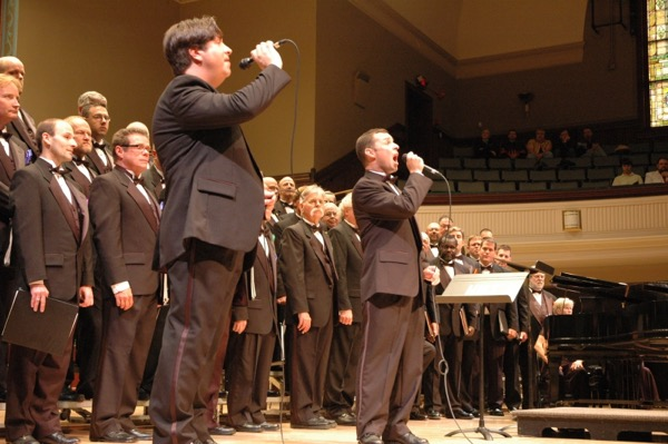 The Jamestown Concert Association will conclude its 2016-17 season Sunday with a 4 p.m. performance by the Buffalo Gay Men's Chorus at St. Luke's Episcopal Church.