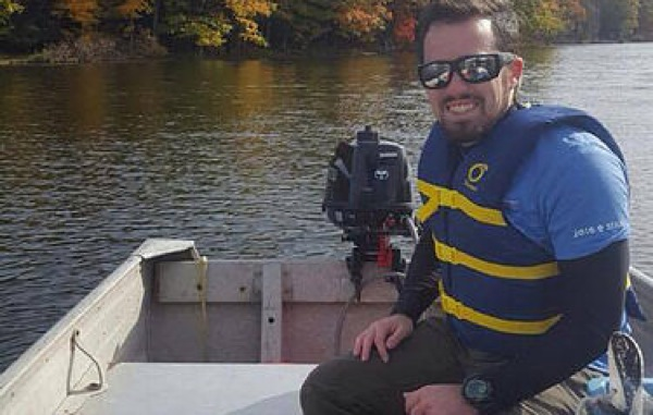 """Joey O'Reilly will be working with the Cassadaga Lakes Association to create a """"state of the lake"""" report as well as a comprehensive management plan for the Cassadaga Lakes.  Submitted photo"""