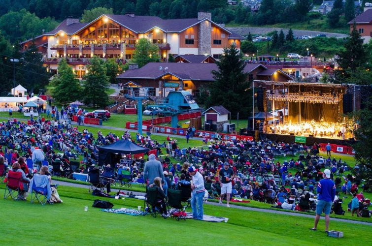 Ellicottville's always eclectic Summer Music Festival showcases a mix of rock, country and orchestral pops — topped off by amazing fireworks.