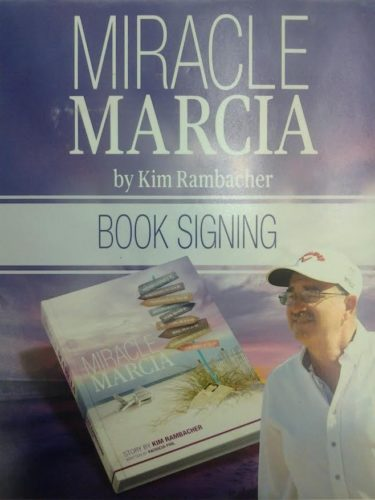 "Kim Rambacher, author of ""Miracle Marcia"" will be holding a book signing Sunday at Petals & Twigs, located at 8C Alburtus Ave. in Bemus Point. Submitted photo"