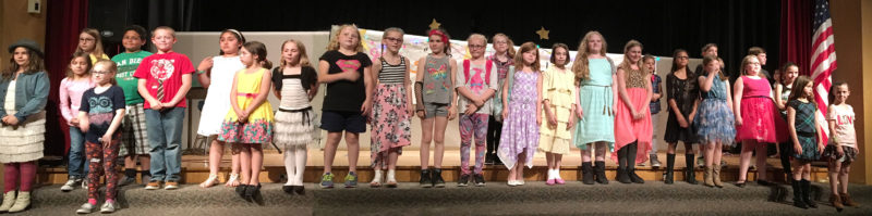 Thirty students showcased their amazing talents in the 13th Annual Bush Elementary School Talent Show.