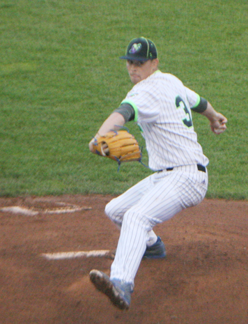 Christian Young threw seven shutout innings for the Jammers earlier this month. P-J file photo