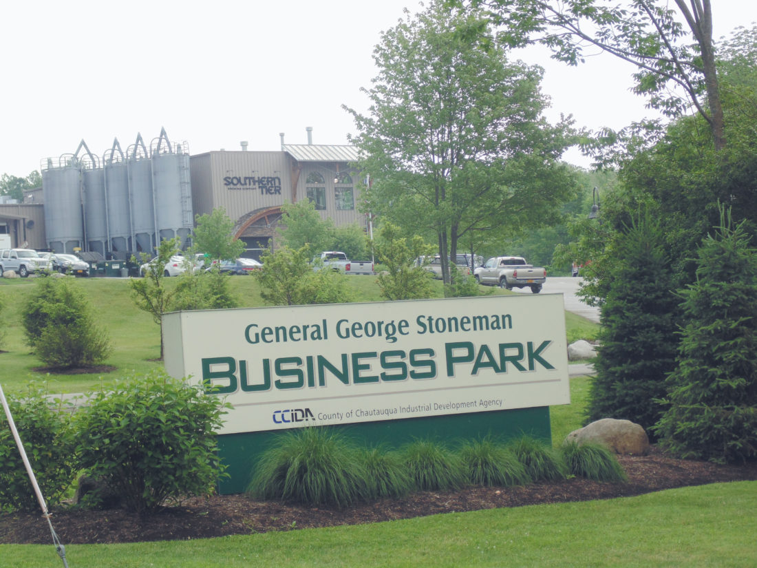 General George Stoneman Business Park in the town of Busti is home to several companies, including Southern Tier Brewing Company, which began operations in 2003. Classic Brass, Quality Manufacturing Systems, Allen Fire Equipment Sales Services Inc. and Chautauqua Hydroseed are other companies located at the business park. P-J photo by Jimmy McCarthy