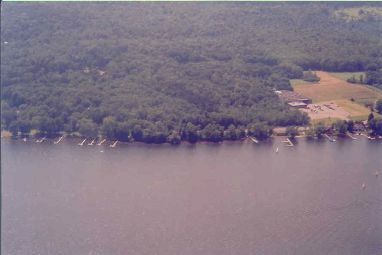 This forested area near Mayville helps deliver clean water to Chautauqua Lake.  Photo by CWC