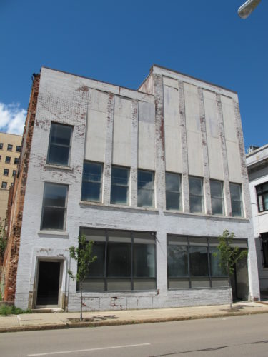 The rehabilitation of 10-12 W. Second St., Jamestown, is one of five state grant applications Jamestown City Council is considering endorsing as part of the 2017 Regional Economic Development Council program.   P-J photo by Dennis Phillips