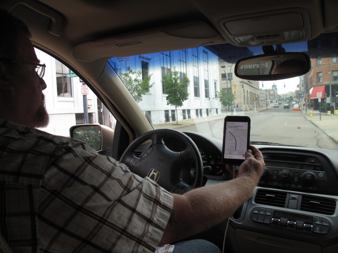 Ride sharing debuts in Western New York