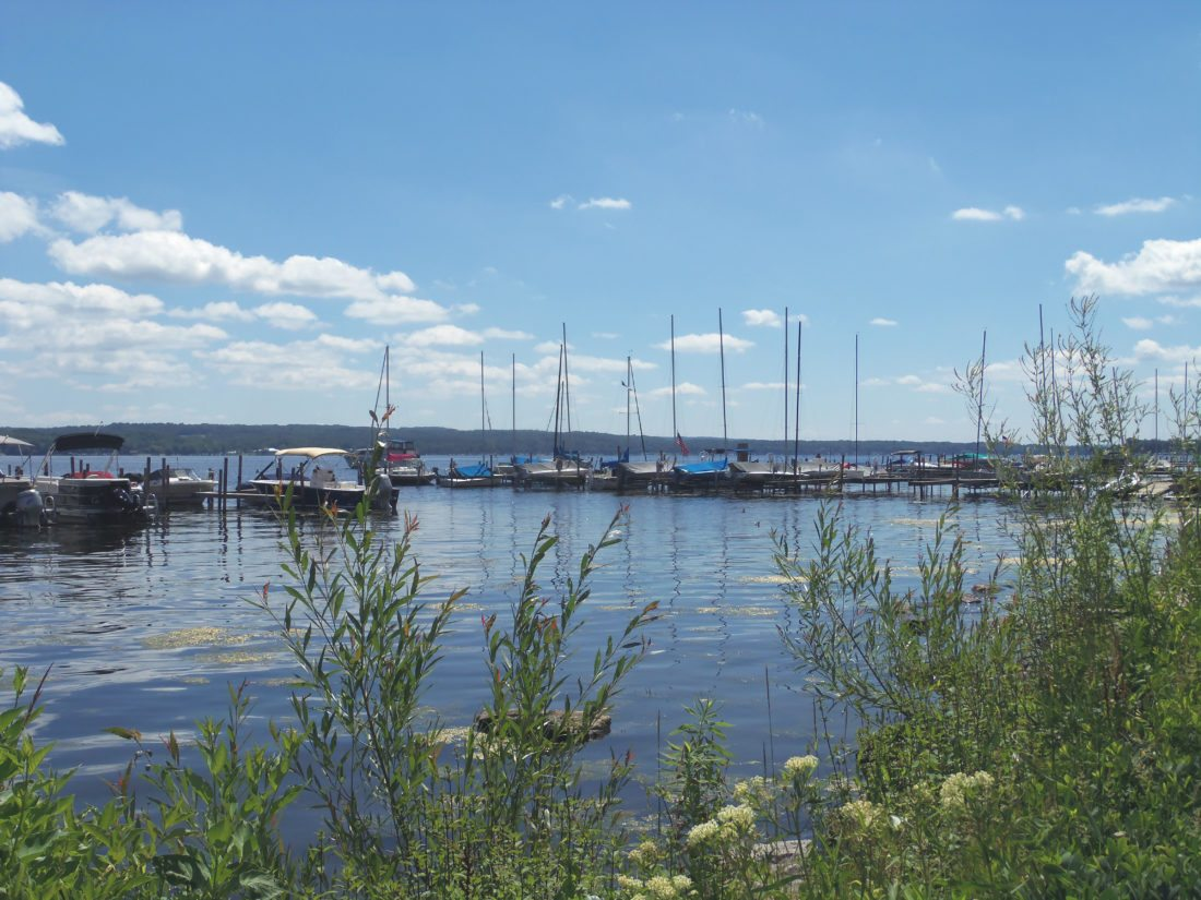 The County Legislature on Wednesday approved funding to the Chautauqua Lake and Watershed Management Alliance to support efforts on the lake.  P-J photo by Katrina Fuller