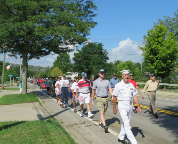 "The RACDC, Randolph American Legion and Randolph VFW will host the 2nd annual ""Veterans Appreciation Day"" Saturday, Aug. 12. Pictured is just one group of United States Military Veterans who participated in last year's parade. P-J file photo by Deb Everts"