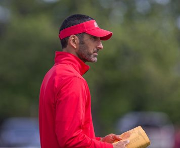 Southwestern boys track & field coach Jay Sirianni led the Trojans to their first undefeated season since 1995. P-J file photo