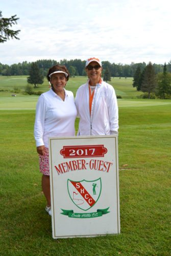 Toni Indriolo and Annette Patric won the South Hills Country Club Ladies Member-Guest with a net 55. Submitted photo