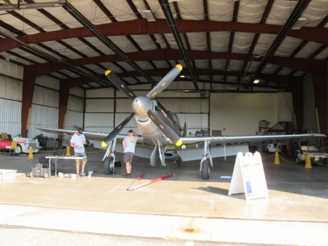 Three World War II-era planes U.S. military during its World War II campaigns in Europe and the Pacific will be on display at the Chautauqua County-Jamestown Airport from 9 a.m. to noon today. P-J photos by Gavin Paterniti