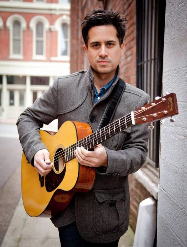 Corey Congilio, a Nashville-based and nationally touring recording artist, will visit Jamestown's Trinity Guitars on Thursday, Aug. 24, for a clinic focusing on the Martin Guitar company. Submitted photo