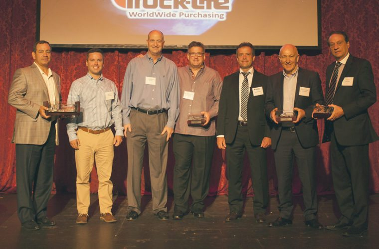 Truck-Lite Co., a worldwide leader in heavy-duty lighting, wire harness and visibility systems, announced its five regional Suppliers of the Year awards at its global supplier summit held July 24 at the Willow Bay Theater in Jamestown. Submitted photo