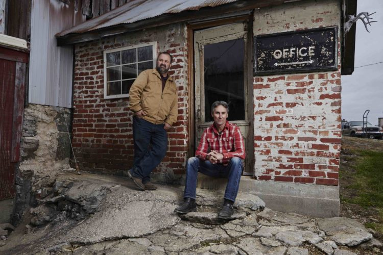 "History Channel's ""American Pickers,"" featuring the picking duo of Mike Wolfe and Frank Fritz, will be filming episodes of its documentary TV series in New York state next month. The team is encouraging residents to submit information regarding private collections or accumulations of American antiques. Submitted photo"