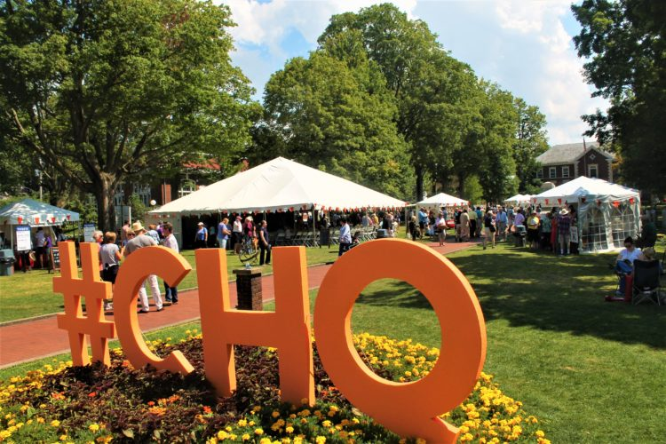 Chautauqua Institution held its first-ever Food Festival on Monday. Several food-related events have been planned for this week at Bestor Plaza at Chautauqua Institution.  P-J photo by Jordan W. Patterson