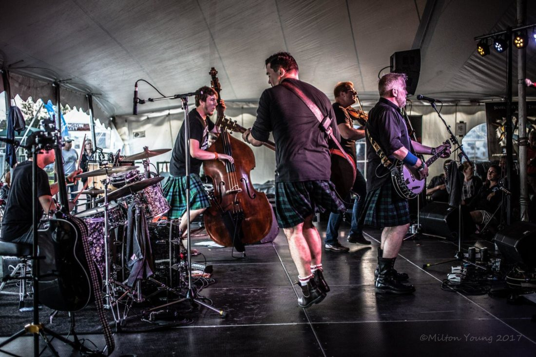 The Town Pants will give a free performance at the 12th annual Jamestown Regional Celtic Festival and Gathering of Clans at Mayville's Lakeside Park on Friday from 6-9:30 p.m. Submitted photo by Milton Young