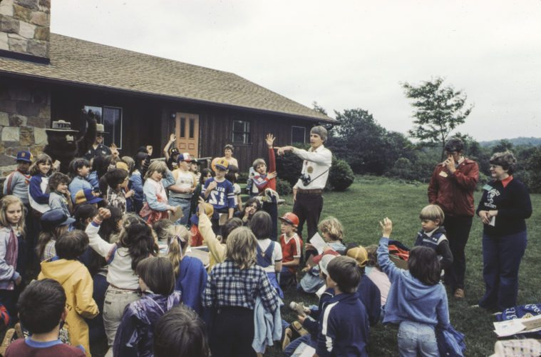 Audubon's first Naturalist/Director Jim Yaich led and grew the programs held at the nature center under almost a quarter century of leadership.  Submitted photos