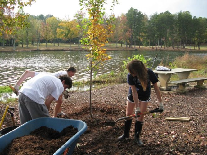 Fall is the perfect time of year to plant trees, which add value to our lives, our homes and our waterways. Photo by The Arbor Day Foundation