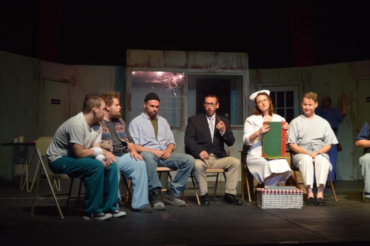 """The Winged Ox Players theater group will conclude its production of """"One Flew Over the Cuckoo's Nest"""" with 7:30 p.m. performances at the Willow Bay Theater on Friday and Saturday. Submitted photo"""