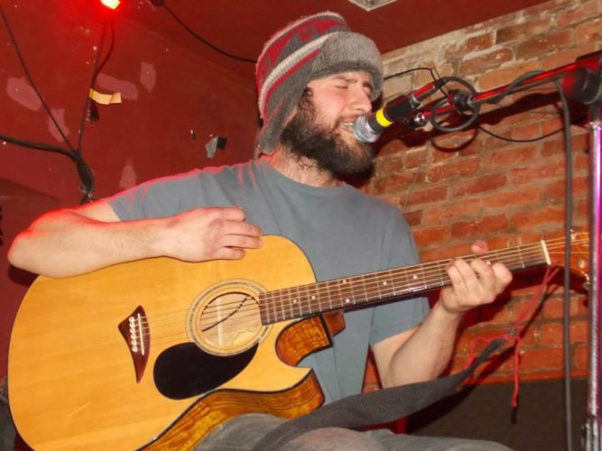 """A local acoustic music collective known as """"Skunk Monkey Junction"""" will present live performances by The Winterfellas, Deep Fried & Dipped in Honey, Nicholas DeSanto, pictured above, and Kaleidoscope Sky at Mojo's Music Bar, 104 E. Second St., Saturday from 10 p.m. to 2 a.m. Submitted photos"""